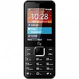 Телефон кнопочный мобильный на 2 SIM с мощным аккумулятором Fly FF243 чёрный, фото 3