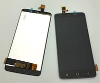 Оригинальный дисплей (модуль) + тачскрин (сенсор) для Ulefone Vienna (черный цвет)