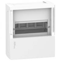 Щит Mini Pragma 1ряд / 4 модуля навісний прозора дверцята MIP12104S Schneider Electric міні прагма Шнайдер