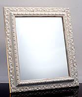 Зеркало в раме, настенное и настольное 395х350 мм