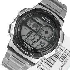 Мужские наручные часы CASIO AE-1000WD-1AVDF стальной