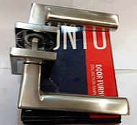 Ручка раздельная  PUNTO BLADE QL SN/CP-3 матовый никель/хром