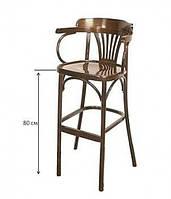 Высокое деревянное кресло Аполло Н=800 мм