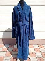 Мужской махровый халат размер 5XL. Батал, фото 1