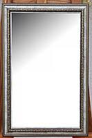 Зеркало в раме, настенное, габаритный размер 570х370 мм