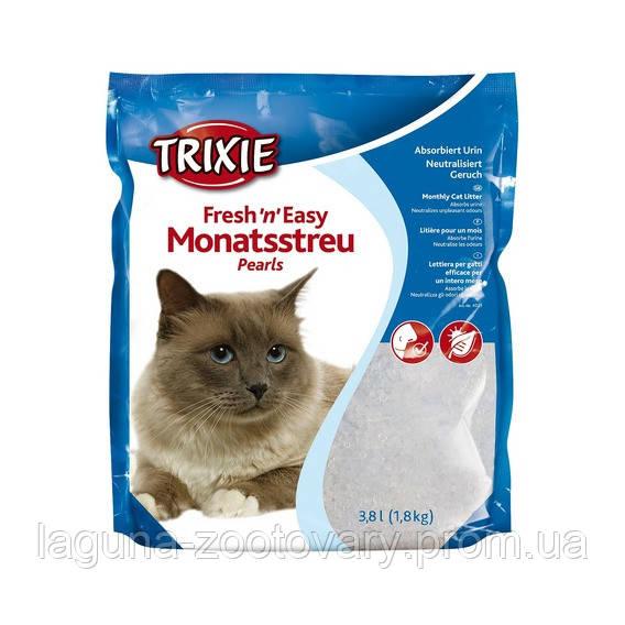 """Силикагель """"FRESH~N~EASY"""" 8л, кристаллы, наполнитель для кошачьего туалета"""