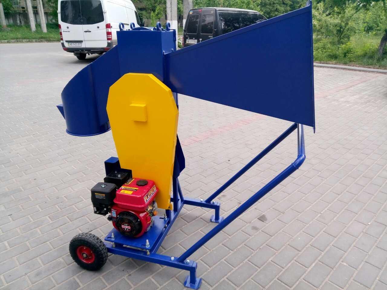 Измельчитель веток ЛАН 13 л.с.(бензиновый двигатель)
