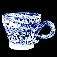 Чашка кофейная керамическая ручной работы Большая 180мл 9582