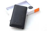 Кожаный чехол Melkco для Nokia X черный, фото 1