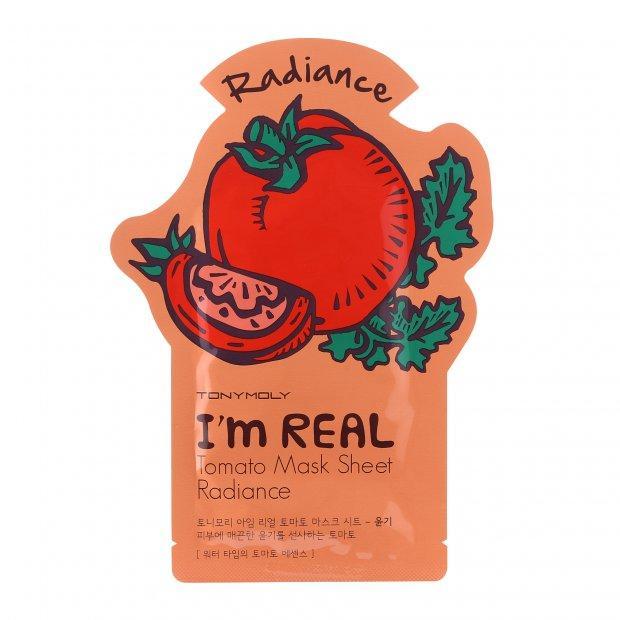 Листовая маска для лица TONYMOLY I'm real Tomato