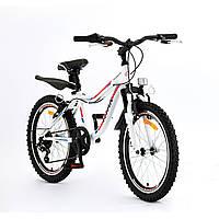 """Новий Велосипед Titan 20"""" Rocky Boy білого кольру для дитини (рост 110-135 см)"""