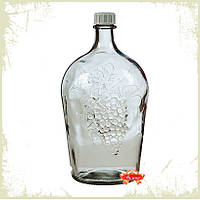 """Бутылка стеклянная """"Ровоам"""" 4,5 л."""