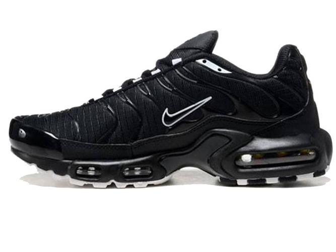 99427c834c36 Мужские кроссовки Nike Air Max 95 TN Plus Black White (Реплика ААА ...