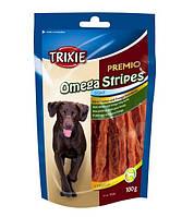 Лакомство для всех пород собак - сушеное куриное филе ОМЕГА