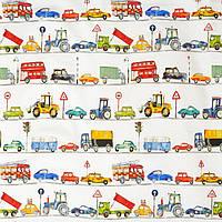 Ткань для штор в детскую On the road My world, фото 1