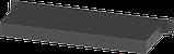 Корпус металевий Rack 1U, модель MB-1200S (Ш483(432) Г202 В44) чорний, RAL9005(Black textured), фото 2
