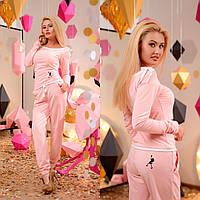 Женский костюм (42-44, 44-46) — трикотаж купить оптом и в Розницу в одессе 7км