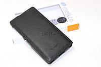 Кожаный чехол Melkco для Sony Xperia Z2 D6502 черный, фото 1