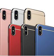 Чехол бампер Ipaky new для Apple iPhone X (6 цветов)