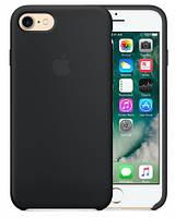 Чехол для iPhone 7/8/ iPhone SE 2020 Silicone Case бампер (Black)