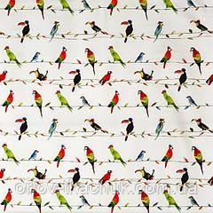 Тканина для штор в дитячу Toucan talk My world