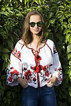 Стильная вышитая женская блуза
