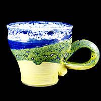 Чашка кофейная керамическая ручной работы Большая 180мл 9586