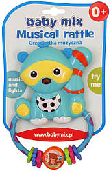 Погремушка пластиковая с музыкой Baby Mix KP-0682 Энот