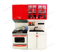 Игрушечный набор кухни с посудкой