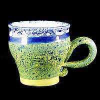 Чашка кофейная керамическая ручной работы Большая 180мл 9588