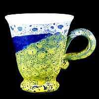 Чашка кофейная керамическая ручной работы Большая 180мл 9589