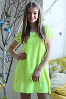 Платье Хлоя неон