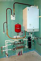 Ремонт, установка газовой колонки, котла во Львове