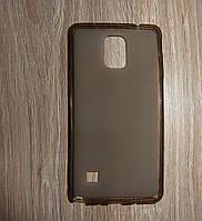 Чехол накладка Samsung Galaxy Note 4 серый