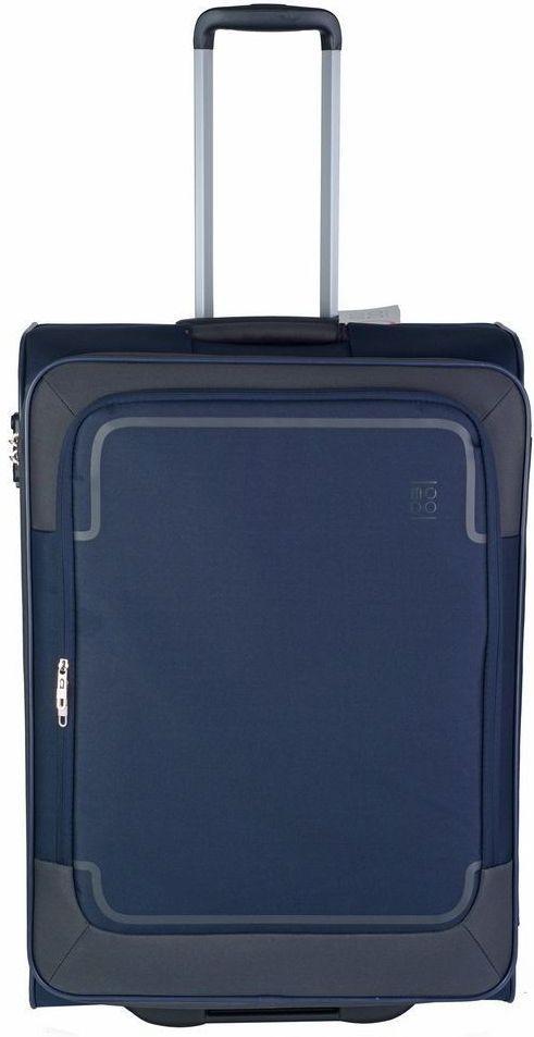 Тканевый 2-х колесный чемодан-гигант 108 л. Roncato Stargate 425451 23, темно-синий