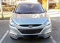 Рамки противотуманок передних с LED огнями Hyundai ix35