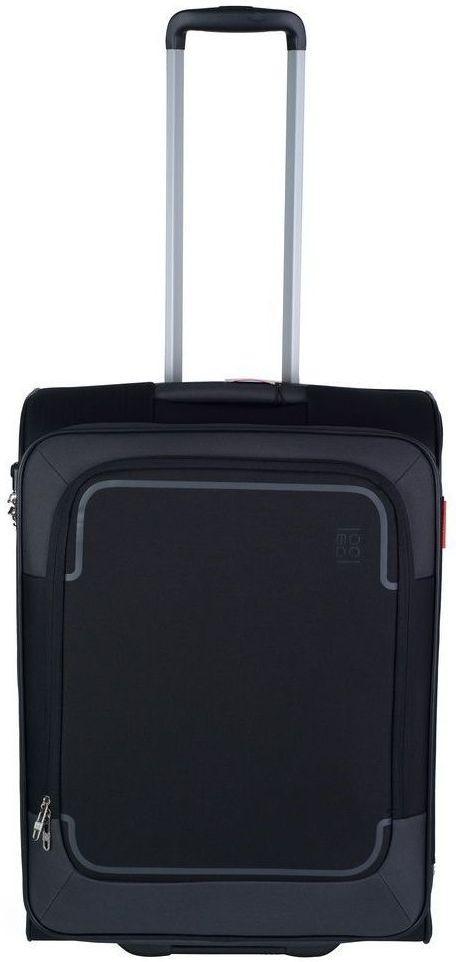 Тканевый 2-х колесный средний чемодан 74 л. Roncato Stargate 425452 01, черный