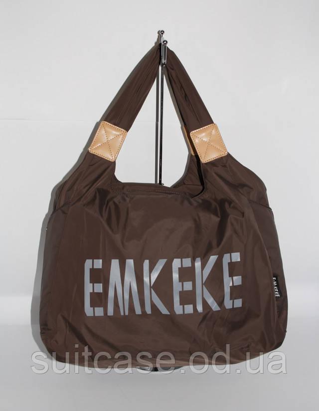 50261972f7c1 Спортивная, дорожная, пляжная сумка EMKeke 915 коричневый, расцветки -  Интернет-магазин