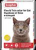 Ошейник от блох и клещей для кошек Беафар