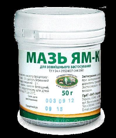 Мазь Ям-К упаковка - 50 г., фото 2