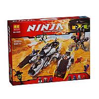 """Конструктор """"Ninjago"""" 10529 """"Внедорожник с суперсистемой маскировки"""", 1135 деталей, в коробке"""