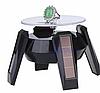 Демонстрационный вращающийся столик на солнечной батарее черный