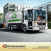 Двухпоточный гидравлический насос (для мусоровоза)
