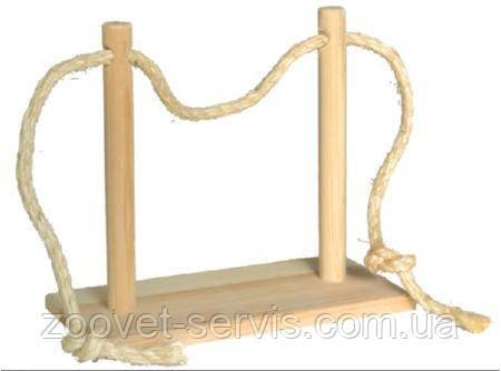 Качели для хомяка деревяные, фото 2