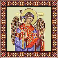 Схема для бисера икона Архангел Михаил
