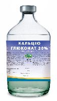 Кальция глюконат 20% растврор, флакон - 100 мл