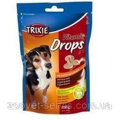 Дропсы с беконом для собак Трикси Vitamin Drops mit 200гр. 31633