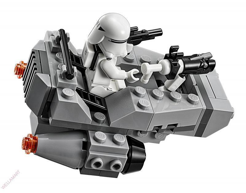 Детский конструктор Star Wars, аналог Lego 100 предметов Снежный Спидер