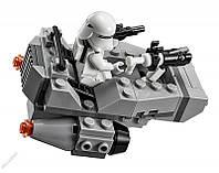Детский конструктор Star Wars, аналог Lego 100 предметов Снежный Спидер, фото 1