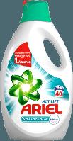 ARIEL Vollwaschmittel Flüssig mit Febrezeduft - Универсальный гель для стирки, 40 циклов, 2600 мл